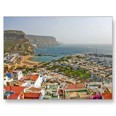 Puerto de Mogan Postcard