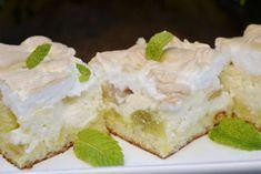 Šťavnatý rebarborový koláč s tvarohom a lahodnou penou