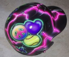 Softball Batting Helmet Peace, Love and Softball Airbrushed Fastpitch Personalized Rawlings CFBH Cheap Baseball Jerseys, Baseball Scoreboard, Baseball Caps, Softball Helmet, Softball Stuff, Fsu Baseball Schedule, Cleveland Indians Baseball, Youth Baseball Gloves, Just A Game