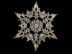 Free pattern: Crocheted Snowflake by Poodie