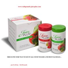 these 2 products flood your body with 22 fruits, and vegetables each day.. with out busy schedule this helps to bridge the gap.