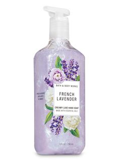 French Lavender Creamy Luxe Hand Soap #creamy #french #Hand #lavender #Luxe #Soap Bath Body Works, Lavender Soap, French Lavender, Bath And Bodyworks, Body Soap, Vintage Perfume Bottles, Smell Good, The Body Shop, Soap Making