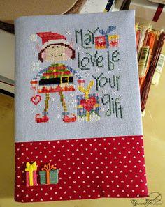 Руки Делают: Lucas, the Love Elf от Barbara Ana Designs