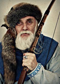 The archer, Lanark, Scotland