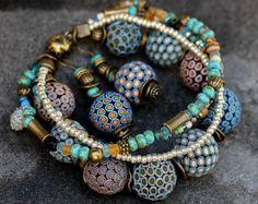 Jewelry from polymer clay requires careful handling. Tanya maorova, earrings, bracelet, polymer clay, polymer clay earrings, ethnic, ethnic jewelry, polymer clay, extruders, jewelery, bijou