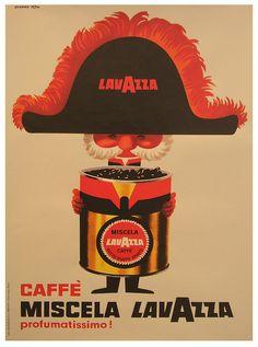Vintage Italian Posters ~ #illustrator #Italian #vintage #posters ~ Lavazza