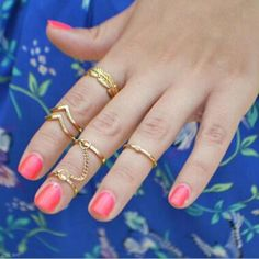 6Pcs-set-Sex-Women-Knuckle-Finger-Joint-Plated-Finger-Ring-Fashion-Jewelry-Gift