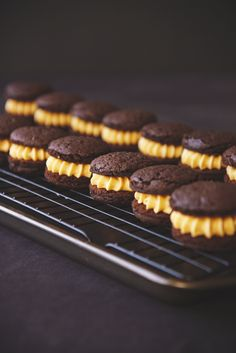 Chocolate and Peanut Butter Cake Cookies