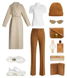 """Unbenannt #1245"" by fashionlandscape ❤ liked on Polyvore featuring Rosetta Getty, The Row, Kate Spade, Etro, Balenciaga, Cartier, A.P.C. and The Body Shop"