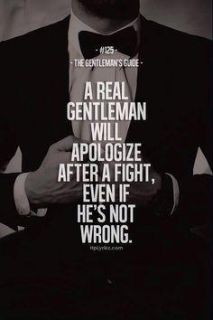 Gentleman Rules ...XoXo