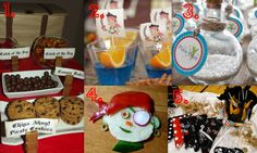 Pirate Theme Birthday Party- Inspiration Board