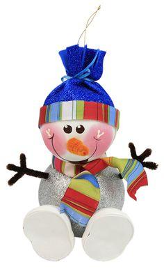 Termoformado / Muñeco de nieve  / Navidad 2014 / Adorno / Decoración