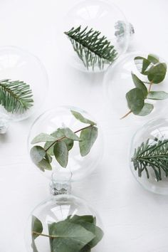 Verdant Ornaments - 15 Creative Ways To Decorate With Leaves - Lonny
