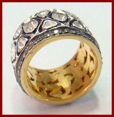 #Diamondband #SilverRIng #VictorianRing #Vintageband #Estatejewellery #Artdecojewellery