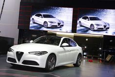 In the automotive market, we will see the other new car named 2017 #Alfa #Romeo #Giulia.