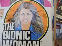 Jaime Sommers The Bionic Woman Vintage Universal City Studios Action Figure Doll Mission Purse Television Hero Doll Professional Tennis Players, Bionic Woman, Universal City, Studio City, Cosmetic Case, Science Fiction, Vintage Ladies, Vintage Items, Studios