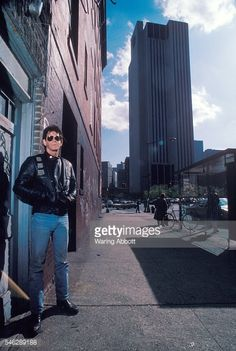 News Photo : American musician Lou Reed in Chinatown on April...