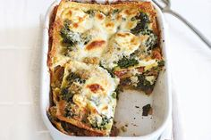 Hoofdgerecht - ovengerecht - Lasagne van spinazie en mascarpone