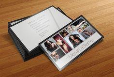 20 Fantásticas y gratuitas plantillas de tarjetas de visita en formato PSD (Photoshop)
