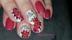 #sharpienails #adeleverweynails  #mariannenails #lovenailart #repost #floralnailart #stamping #nailsoftheday #nailpolishaddict #stampingart  #nailartwow #dreamnails