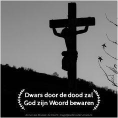 Donderdag 6 april – dag 32 Mijn zoon, mijn zoon waarom verlaat je mij? Je was toch de messias, de beloofde? De engel heeft het zelf gezegd aan mij.. hoe kan het toch dat ik het steeds geloofde? Mijn zoon, mijn zoon kom alsjeblieft eraf! Ik houd van jou, gebruik je superkrachten! straks... #God, #HetWoord, #40Dagen  https://www.dagelijksebroodkruimels.nl/dwars-door-de-dood-zal-god-zijn-woord-bewaren/