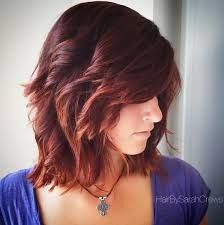Image result for mid length curly hairstyles red hair