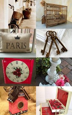 French Country Shabby Chic--Pinned with TreasuryPin.com