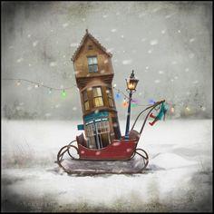 Moving House' | Matylda Konecka