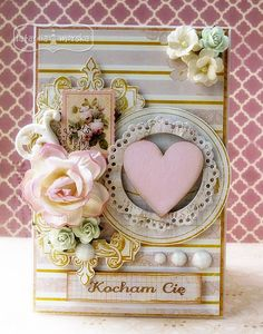 Cardmaking, Valentines Day, Shabby Chic, Frame, Crafts, Home Decor, Valentine's Day Diy, Picture Frame, Manualidades