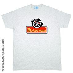 MATARRUANO t-shirt cão azul