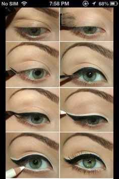 Make Your Eyes Look Bigger #Beauty #Trusper #Tip