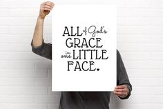 Sizeable/Printable Art All Of God's Grace In One by BrightAndBonny