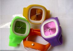 Brand New Stylish Jelly Silicone Watch (CF-BC10) - China Silicone Wrist Watch;Silicone Watch Bracelet;Wrist Watch Phone, CFECH