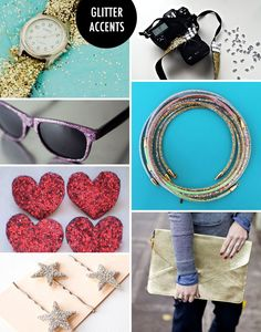 All That Glitters: 50 DIY Projects That Sparkle | Brit + Co.