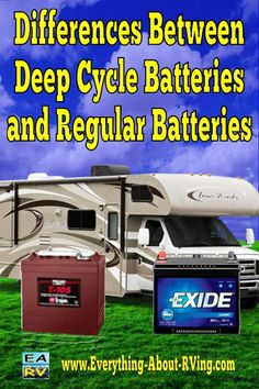 Differences Between Deep Cycle Batteries and Regular Batteries