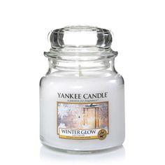 New for Christmas 2015. Yankee Candle WINTER GLOW Housewarmer Jar