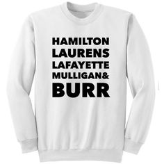 Hamilton Revolutionaries Squad Sweatshirt Hamilton Shirt Laurens... ($25) ❤ liked on Polyvore featuring tops, hoodies, sweatshirts, black, women's clothing, long sweatshirt, vinyl shirt, crew neck shirt, checkered shirt and crew-neck sweatshirts