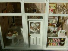 Baking In Miniature: Hanging Patisserie/Bakery Shop Signs