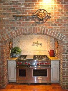 french country fireplace - Google Search
