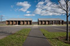 Completed in 2016 in Northampton, United States. Images by JS Photo               . This 3,300 sqft project serves as a pavilion for community recreation fields in Florence, Massachusetts. The program includes storage, restrooms, a...