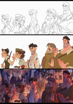 ArtStation - French Partisans, Javier Burgos - the lighting in this is giving me life Digital Painting Tutorials, Digital Art Tutorial, Art Tutorials, Concept Art Tutorial, Character Concept, Character Art, Animation Character, Character Sketches, Art Sketches