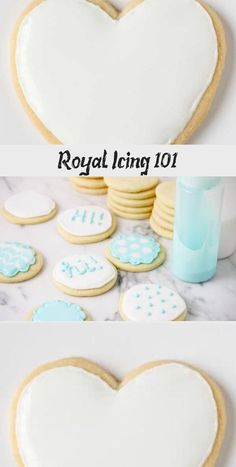 This royal icing is easy to make and will make your cookies look professional. Healthy Sugar Cookies, Almond Sugar Cookies, Pumpkin Sugar Cookies, Halloween Sugar Cookies, Sugar Cookie Icing, Christmas Sugar Cookies, Iced Cookies, Royal Icing Cookies, Pillsbury Sugar Cookies