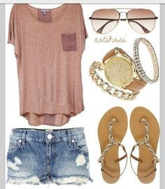 love the color of the shirt, and how it matches the sunglasses, the contrast with the jeans....if only my legs were thin