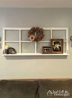 adding a shelf to a window