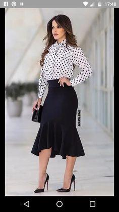 Business Wear, High Waisted Skirt, Fashion Dresses, Womens Fashion, Sexy, Casual, Skirts, How To Wear, Pandora