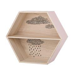Hex Cloud Box Shelf - Quince Living  - 1