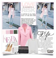 """Yoins #15"" by ana-anaaaa ❤ liked on Polyvore featuring Christian Louboutin, women's clothing, women's fashion, women, female, woman, misses, juniors, outfit and chic"