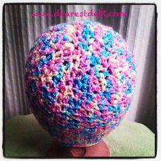 Baby soft crochet chemo cap - Free pattern by DearestDebi