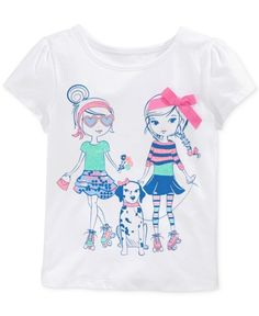 Epic Threads Little Girls Mix Match Graphic Tshirt T Shirt | Shirts, Tops and Clothing