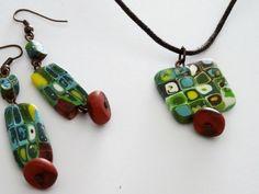 Conjunto Klimt Verde de Entodomemeto por DaWanda.com